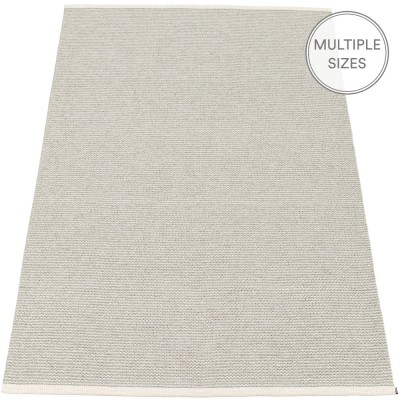Pappelina Mono Fossil Grey : Warm Grey Large Rug