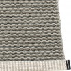 Pappelina Mono Charcoal : Warm Grey Large Rug
