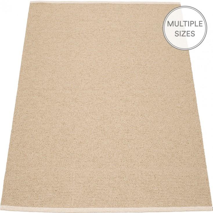 Pappelina Mono Beige : Light Nougat Large Rug