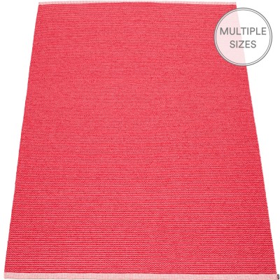 Pappelina Mono Cherry : Pink Large Rug