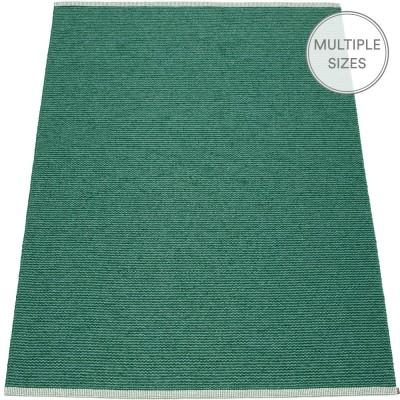 Pappelina Mono Dark Green : Jade Large Rug