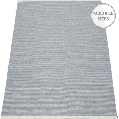 Pappelina Mono Storm : Light Grey Large Rug