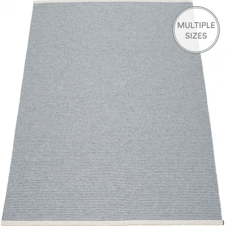 Pappelina Mono Storm : Light Grey Large Rug