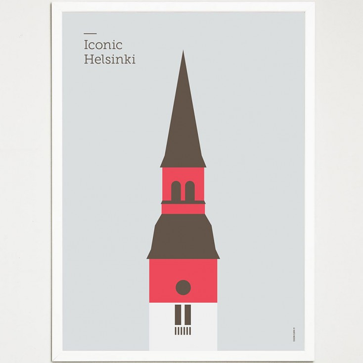 Iconic Helsinki Poster - National Museum