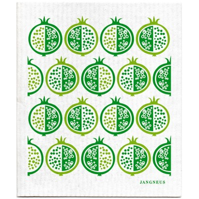 Jangneus Green Pomegranate Dishcloth
