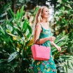 Hinza Small Tropical Pink Bag