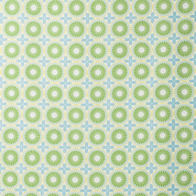 Remnant - Juline Green Fabric - 1.3 m