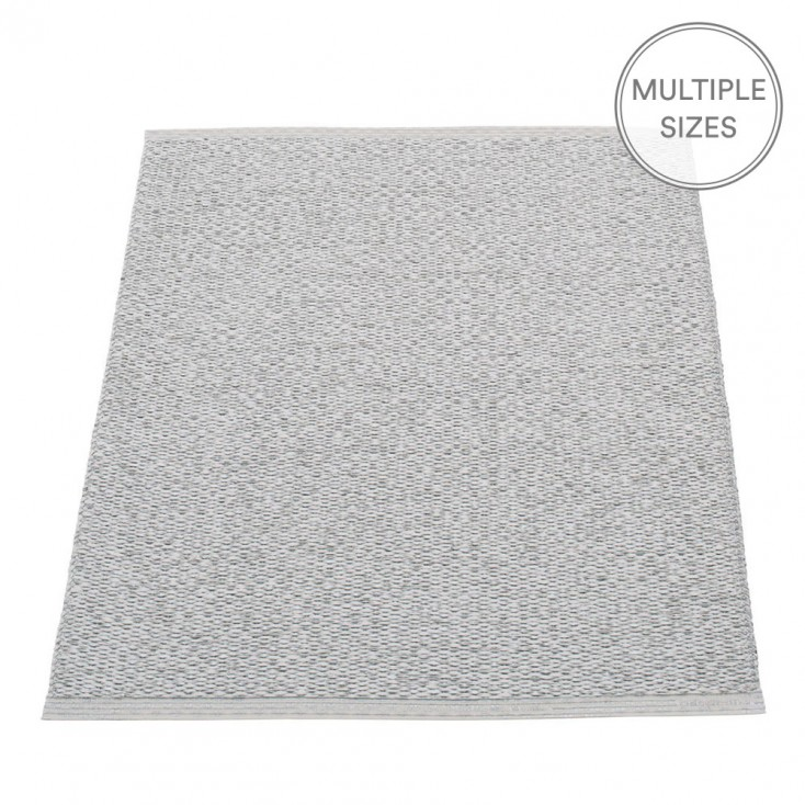 Pappelina Svea Grey Metallic Mat - 70 x 90 cm