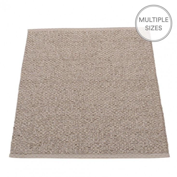 Pappelina Svea Mud Metallic Mat - 70 x 90 cm