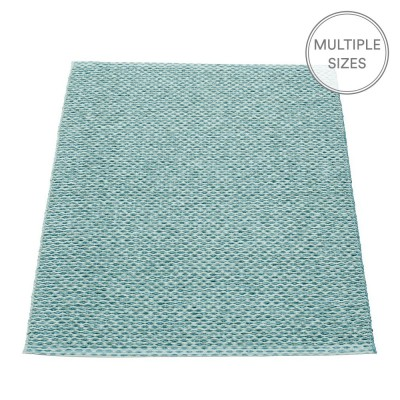 Pappelina Svea Azurblue Metallic Mat - 70 x 90 cm