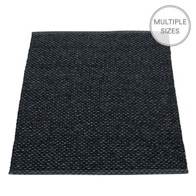 Pappelina Svea Black Metallic Mat - 70 x 90 cm