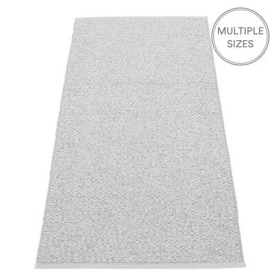 Pappelina Svea Runner - Grey Metallic - 70 x 160 cm