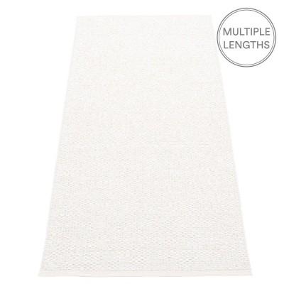 Pappelina Svea Runner - White Metallic - 70 x 160 cm