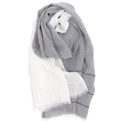 Lapuan Kankurit Tsavo Scarf - Grey / White