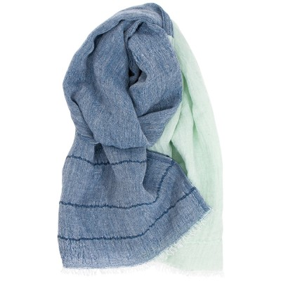 Lapuan Kankurit Tsavo Scarf - Blueberry / Mint