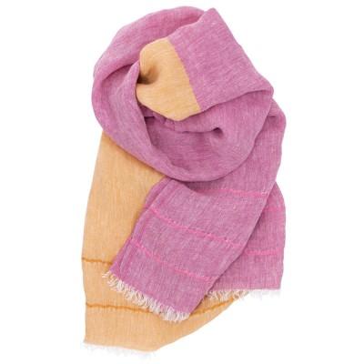 Lapuan Kankurit Tsavo Scarf - Pink / Cloudberry