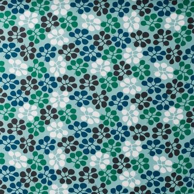 Remnant - Callisia Petrol Fabric - 65 cm