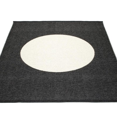 Pappelina Vera One Large Rug - Black