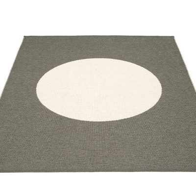 Pappelina Vera One Large Rug - Charcoal