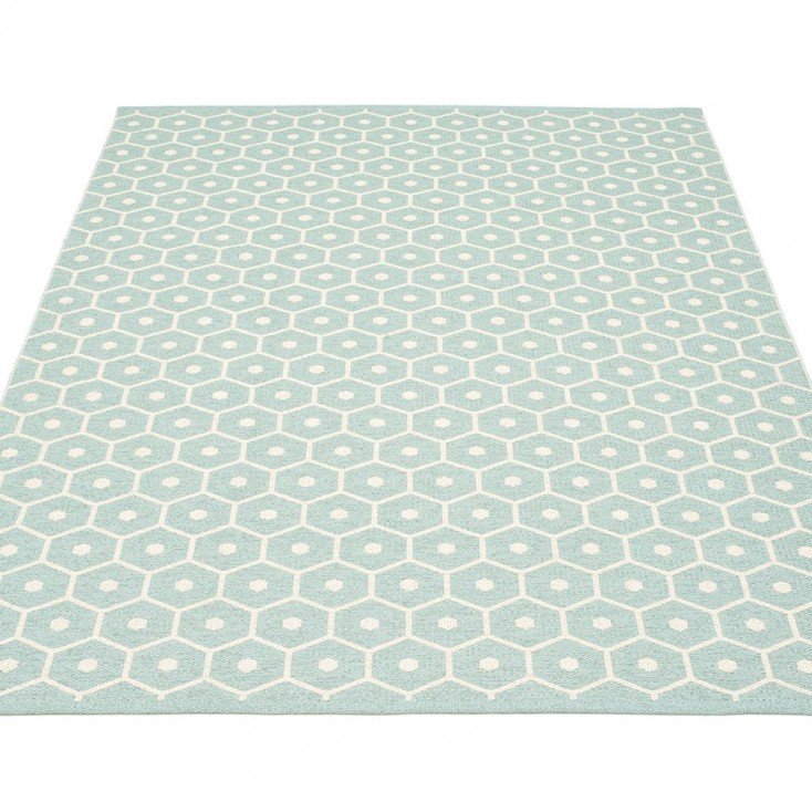 Pappelina Honey Large Rug - Pale Turquoise