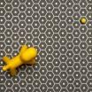 Pappelina Honey Charcoal & Vanilla Rug