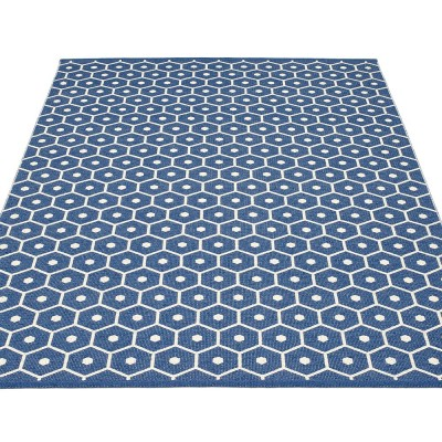 Pappelina Honey Large Rug - Denim