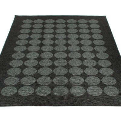 Pappelina Hugo Large Rug - Black