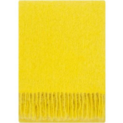 Lapuan Kankurit Yellow Saaga Uni Mohair Blanket
