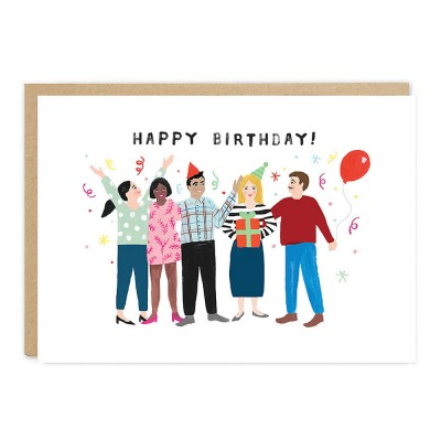 Jade Fisher - Party Greeting Card