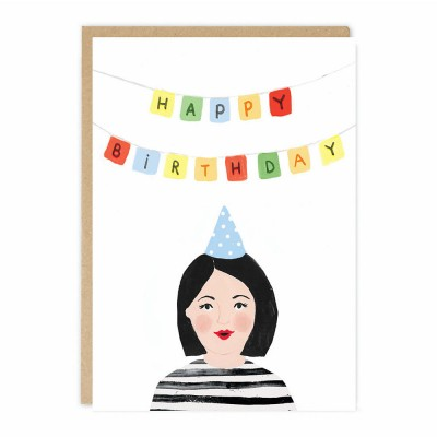 Jade Fisher - Jade Greeting Card