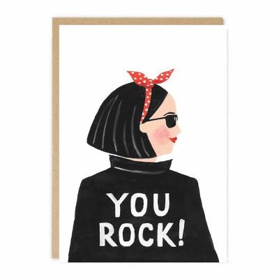 Jade Fisher - LRG Greeting Card