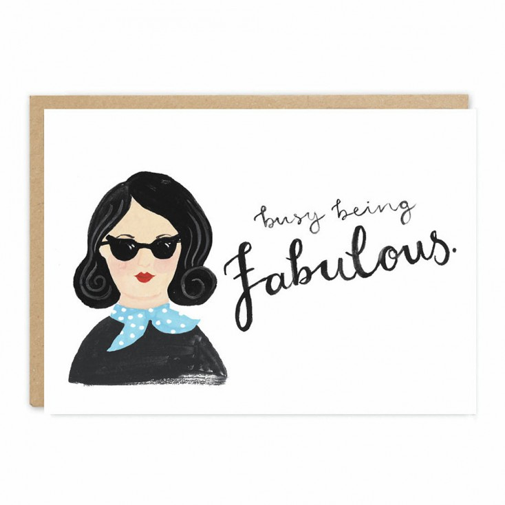 Jade Fisher - Ellen Greeting Card
