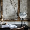 Umage Carmina Lamp Shade - Mini Misty Grey on Vita Table Tripod