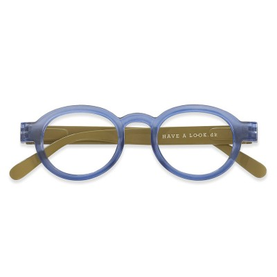808bafb37d26 Have A Look Reading Glasses - Circle Twist - Blue   Olive