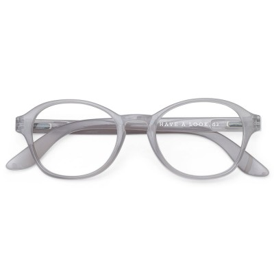 Have A Look Reading Glasses - Circle - Grey