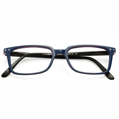 Have A Look Reading Glasses - Classic - Blue & Wine