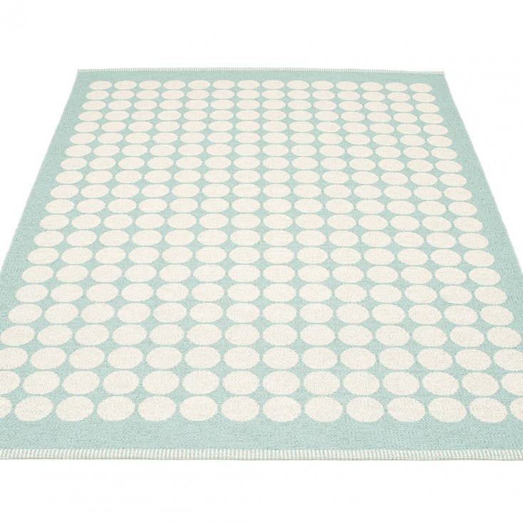 Pappelina Fia Large Rug - Pale Turquoise