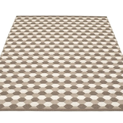 Pappelina Dana Large Rug - Dark Mud