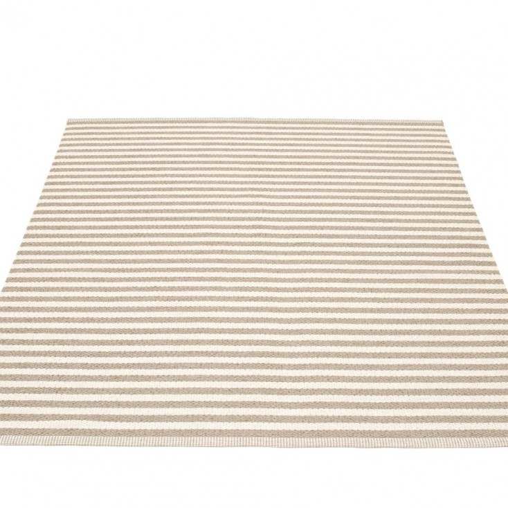 Pappelina Duo Large Rug - Mud - 180 x 220 cm