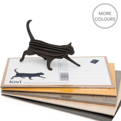Lovi Birch Ply Cat - Natural