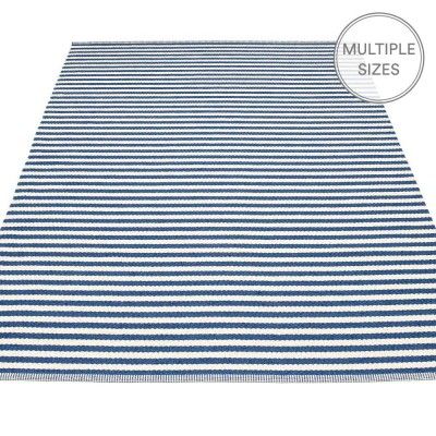 Pappelina Duo Large Rug - Denim