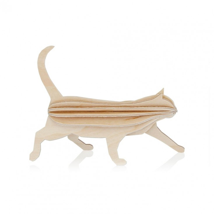 Lovi Birch Ply Cat - Natural