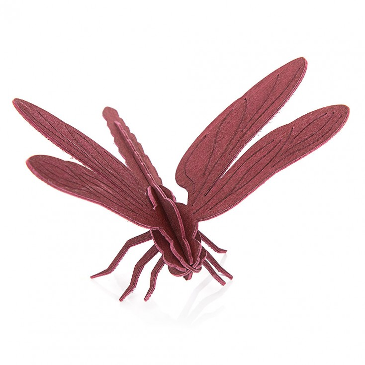 Lovi Birch Ply Dragonfly - Dark Red