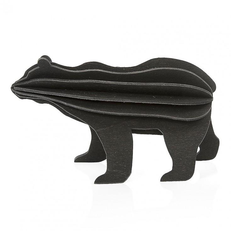 Lovi Birch Ply Bear - Black