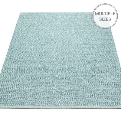 Pappelina Svea Large Rug - Azurblue Metallic