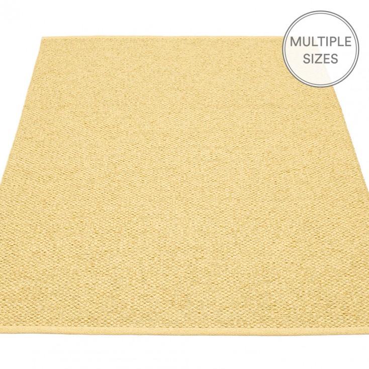 Pappelina Svea Large Rug - Gold Metallic