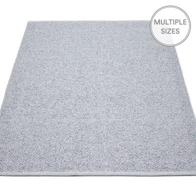 Pappelina Svea Large Rug - Grey Metallic