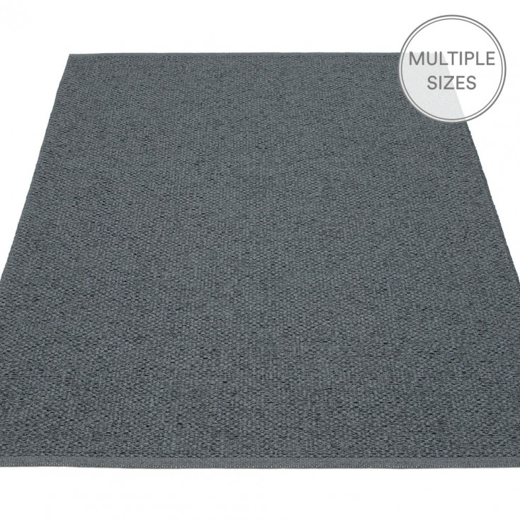 Pappelina Svea Large Rug - Granit Metallic