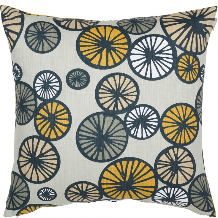 Spira Taro Cushion - Mustard