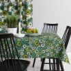 Scandinavian Fabric - Spira Green Taro & Yoko